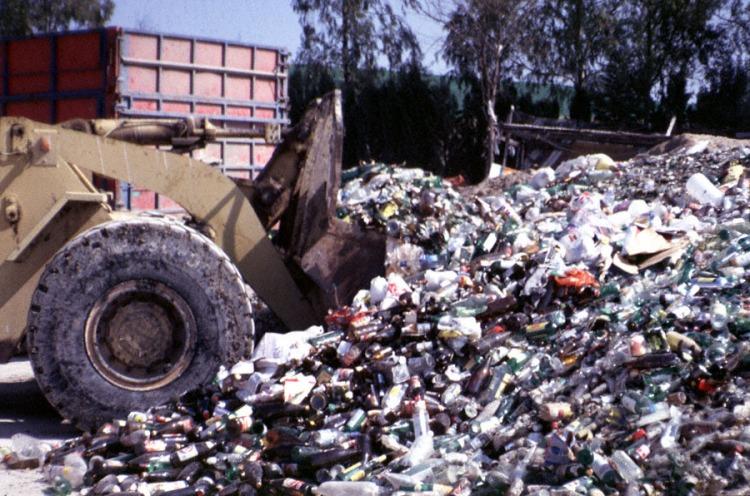Vertedero de  residuos solidos urbanos