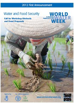 Word Water Week - 2012