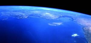 Vista Satélite del Mar