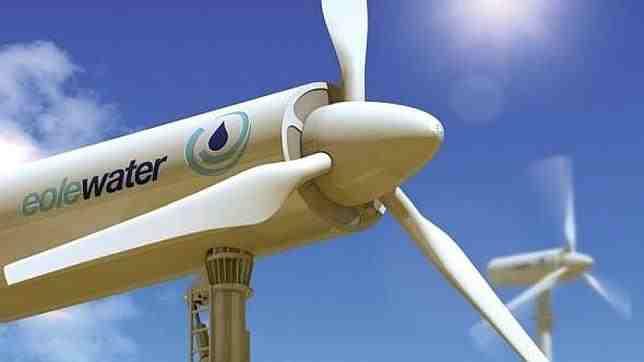 turbina eolica agua potable