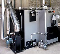 Caldera Biomasa 220 kW, mod. TurboMat TM220 de Fröling