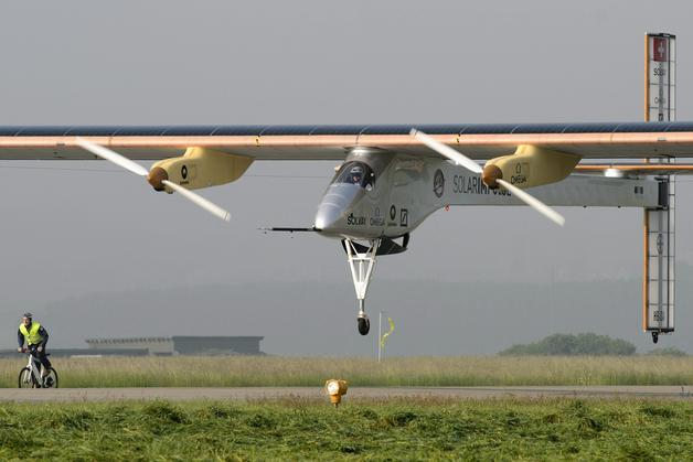 El avion solar - Solar Impulse