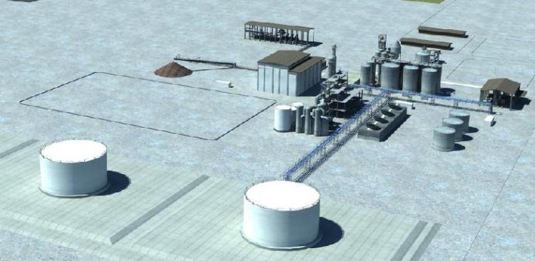 Planta de bioetanol ISOLUX