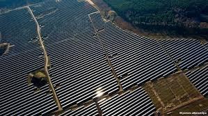 Parque solar en China