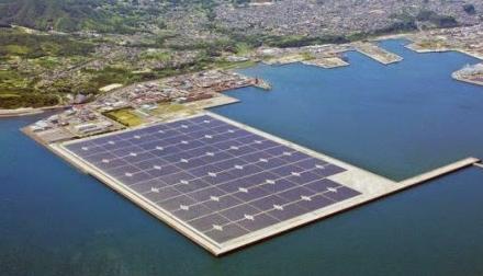 Central Fotovoltaica Flotante Japon
