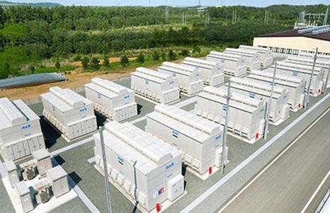 Gigantesco Sistema de Almacenamiento de Energía Solar enJapón